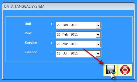 tanggal sistem 3