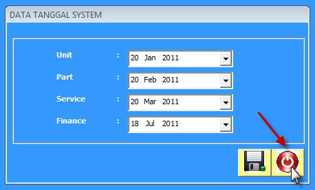 tanggal sistem 4
