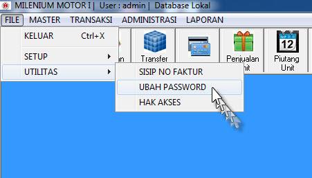 ubah password 1