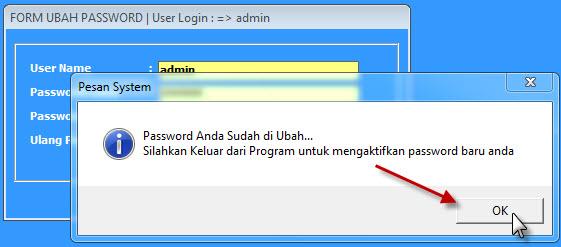 ubah password 3