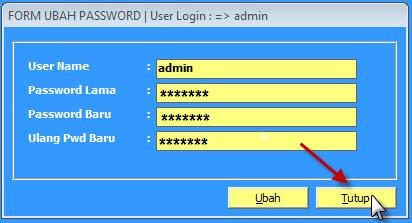 ubah password 4